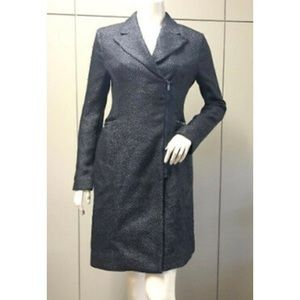 BCBG-Woven/Textured Charcoal (Holiday Dress Coat)